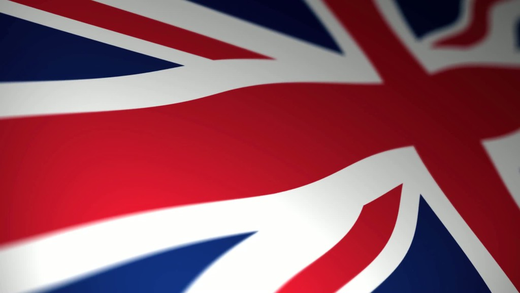 British-Flag-Stock-Video